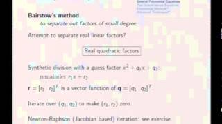 Mod-04 Lec-16 Solution of Equations