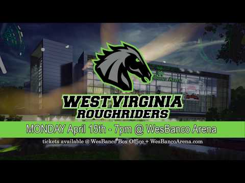 Roughriders Return Home for Monday Night Football on April 15th @ 7pm at the WesBanco Arena