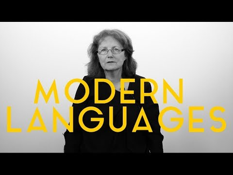 Why study in the Department of Modern Languages?