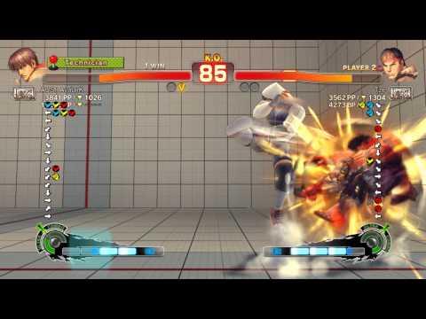 USF4 PC – European Journey: AvatarK (Guy) vs Tze (Ryu)
