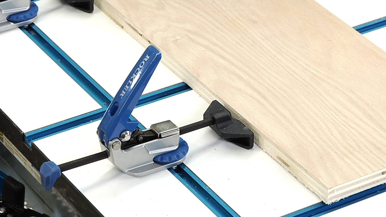 Portable Power Tool Safety With The Rockler T Track System