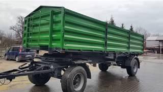 Zabudowa BDF kiprowanie przyczepy 20 ton 7,5mx2,5mx1,2m - Zychar
