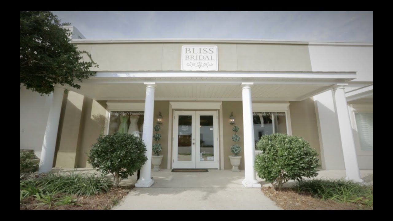 22f729dea266d Welcome to Bliss Bridal: Fairhope, AL - YouTube