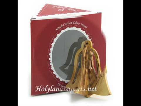 Olive Wood Ornaments by Holy Land Imports