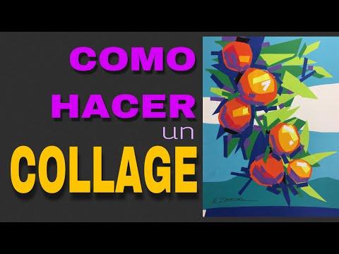 Como hacer un collage, Arte collage, Técnicas artísticas, Arte con papel, Clases de arte