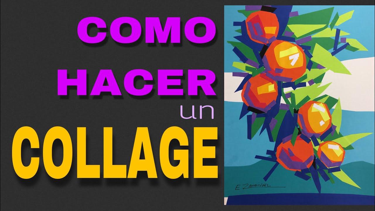 Como hacer un collage arte collage t cnicas art sticas - Como hacer un collage de fotos a mano ...