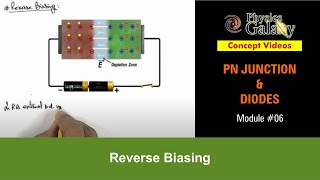 6. Class 12th Physics | PN Junction & Sem Diodes | Reverse Biasing | by Ashish Arora
