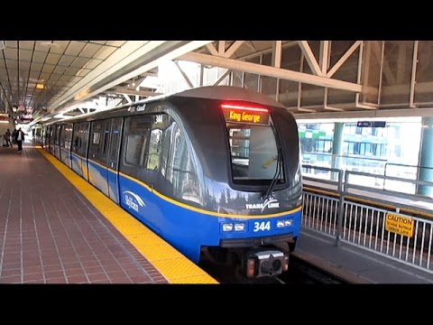 TransLink Expo Line Skytrain - King George to Waterfront (2015)