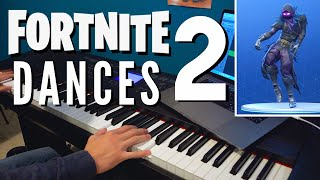 Fortnite Dances Piano Mashup 2