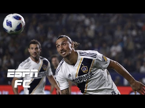 Zlatan Ibrahimović scores, but LA Galaxy draw LAFC | ESPN FC