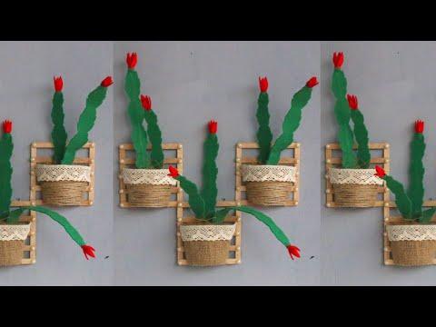 Popsicle stick crafts ideas   Diy popsicle   Hiasan dinding dari stik es krim