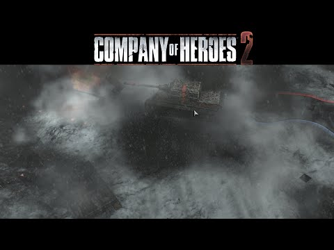 Company Of Heroes 2 : Multiplayer Gameplay - David and Goliath
