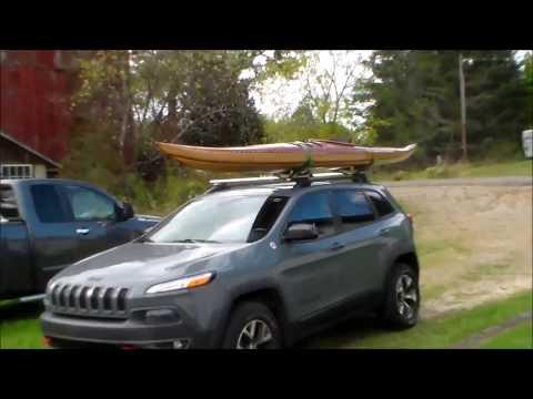 DIY Kayak Roof Rack