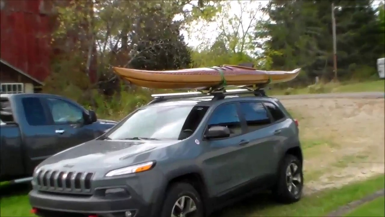 Diy Kayak Roof Rack Youtube