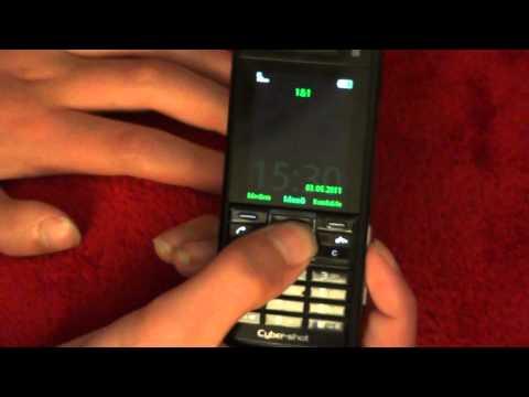 Sony Ericsson C902 review Deutsch/German