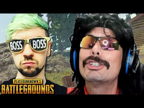 Doc gets Donation from Jacksepticeye and Funny Moments on PUBG!