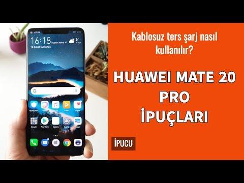 Huawei Mate 20 Pro İpuçları