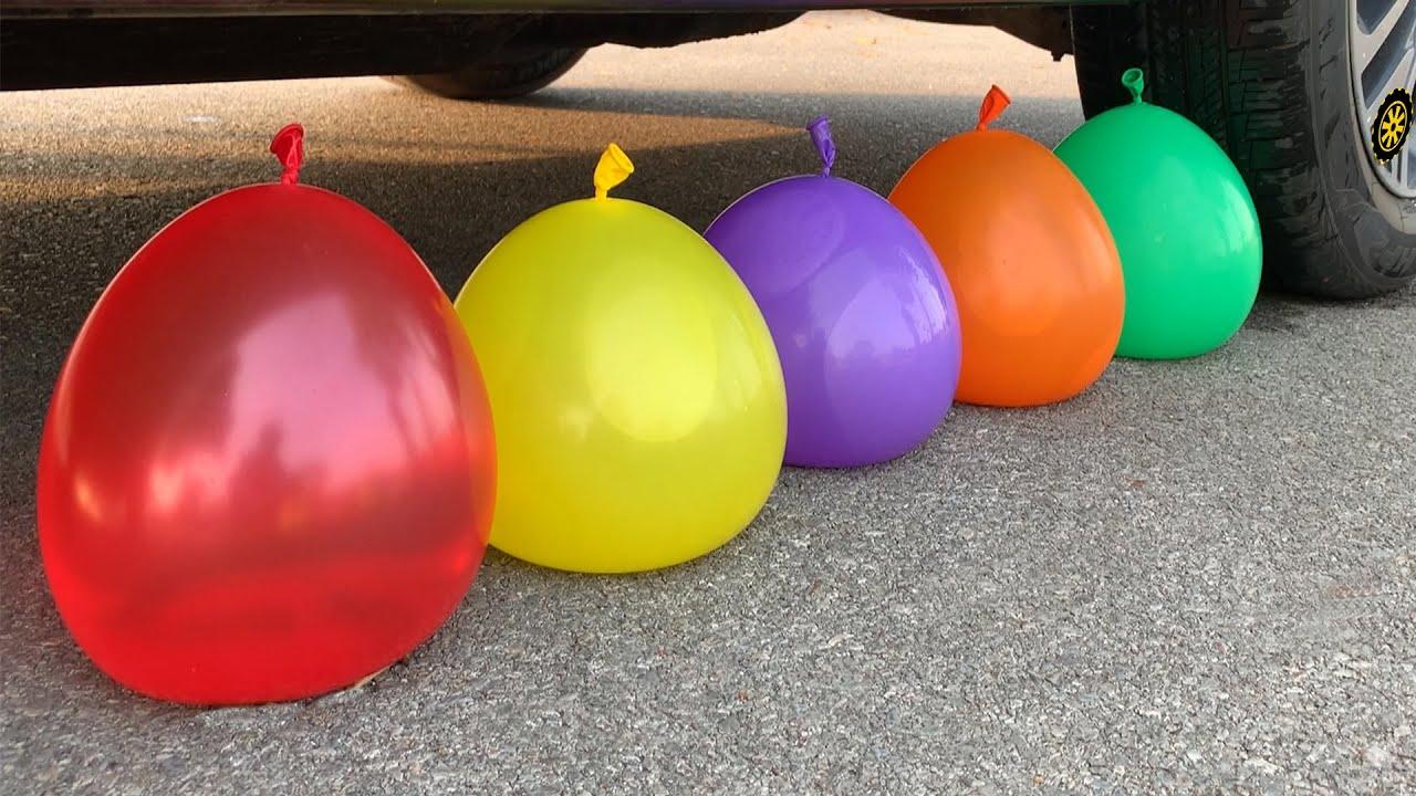 Balloons Experiment!! Sprite Redbull Fanta Monster Coca Cola Burn Pepsi Vs Mentos #152