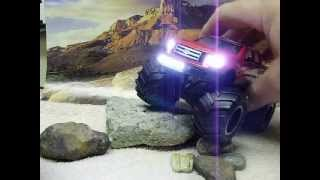 custom 1 32 scale ford f 150 4 wheel drive monster truck with working lights