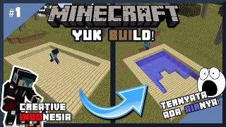Download Video Yuk Build! : Cara Membuat Kolam Renang Rahasia di Minecraft (1.11) MP3 3GP MP4