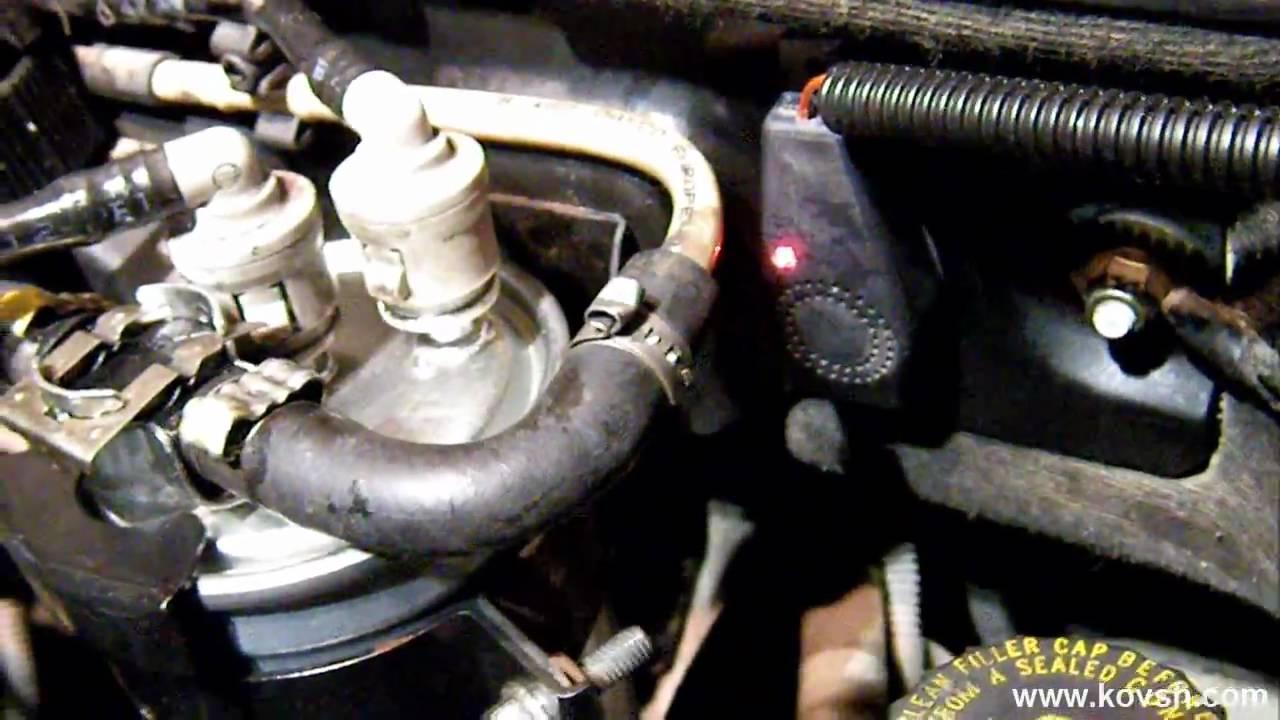 как слить воду с фильтра дизельного двигателя киа соренто