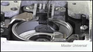 видео Почему швейная машинка не цепляет нижнюю нитку?