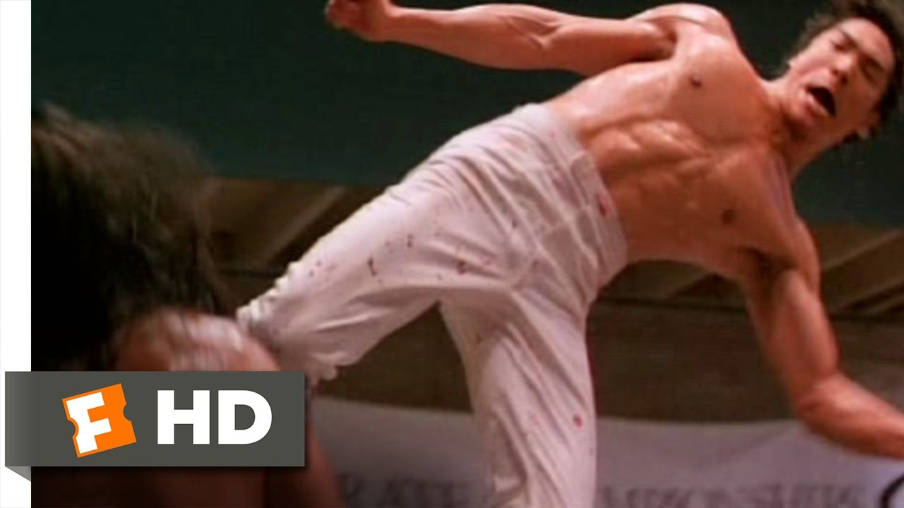 4fc16a98dccce7 Dragon: The Bruce Lee Story (7/10) Movie CLIP - 60 Second Revenge (1993) HD  - YouTube