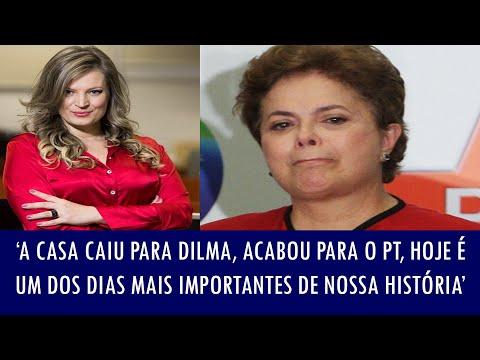 'A casa caiu para Dilma, acabou para o PT, hoje é um dos dias mais importantes de nossa história'
