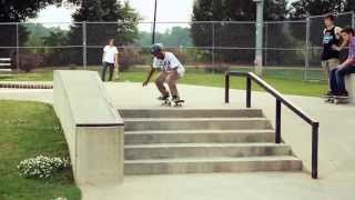 Fakie Alpha Flip and Ollie South LATE Shove It (HD)