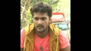 Khesari Lal=Making New Movie Interview Bhojpuri