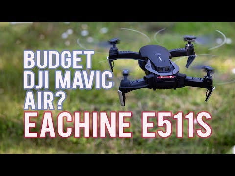Eachine E511S Foldable Drone: DJI Mavic Air on a Budget