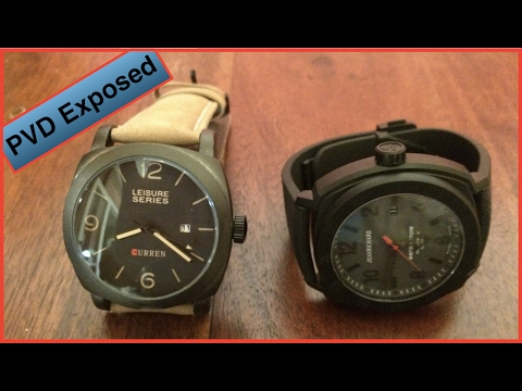 Black PVD Watch Exposed!