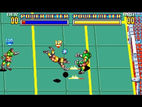 Soccer brawl snk 1992 by sala giochi 1980 youtube for Sala giochi del garage