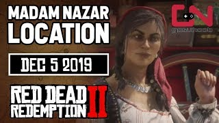 Madam Nazar Location Today - Dec 5 2019 - Red Dead Online