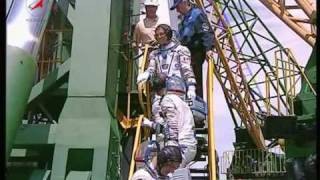 ''Союз  TMA-15''. Посадка экипажа в КК.