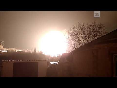 Газовая заправка взорвалась в украинском Кропивницком
