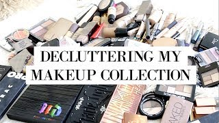 MAKEUP COLLECTION  CLEAROUT + a mini haul lol | Everyday May Day 4 allanaramaa