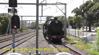 Rail Around New South Wales Decemeber 2010 Edition - PART 1