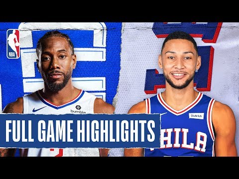 CLIPPERS at 76ERS   FULL GAME HIGHLIGHTS   February 11, 2020