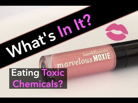 BareMinerals Marvelous Moxie Lip Gloss - What's In It?