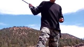 Fishing at Aasayii Lake.... Navajo Nation Chuska Mountains