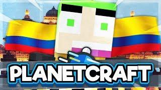 PlanetCraft #20 EEN GEHEIME TEMPEL IN COLOMBIA BEKIJKEN!