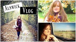 A Weekend in Alnwick Vlog: Alnwick Gardens, Alnwick Castle and Barter Books | Fashioneyesta