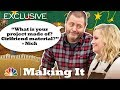 Amy Poehler and Nick Offerman: Craft-Themed Pick-Up Lines - Making It