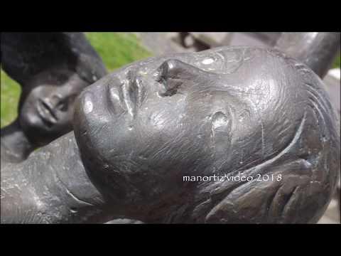 Trevignano Romano, Scultura in bronzo donata da Milton Hebald (manortiz)