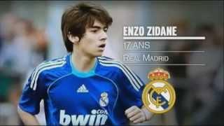 Fils de footballeur : Enzo Zidane le talent est-il dans les gènes ??? (COVER)