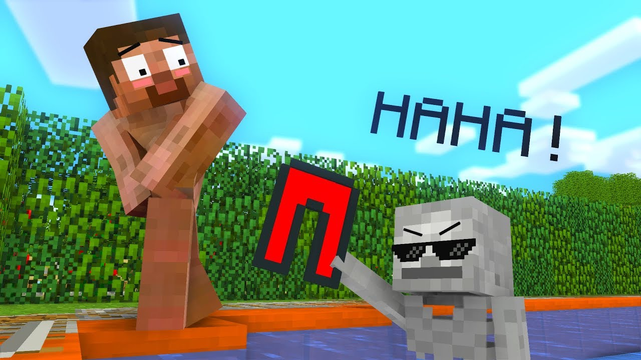 Monster School : Swimming Challenge - Minecraft Animation