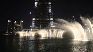 Фонтан в Дубае Butterfly Lovers' Violin Concerto / Dubai fountain