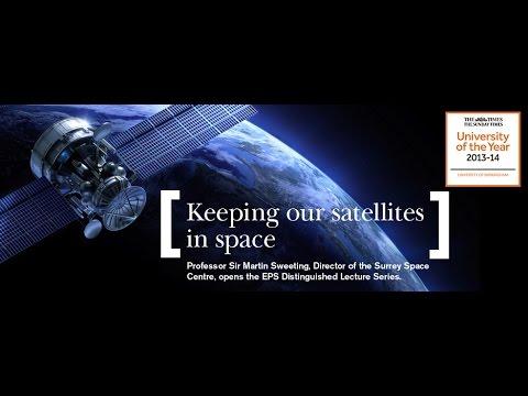 Keeping Satellites in Space – Where Science and Engineering Meet