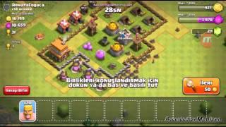 Clash of Clans Oynuyoruz #3 | Kupa Kaybettik